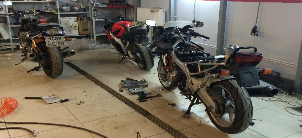 Занимаемся ремонтом мотоциклов, питбайков и скутеров